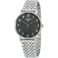 Men's Quartz Stainless Steel Casual Watch, Color:Grey (Model: T1094101107200)