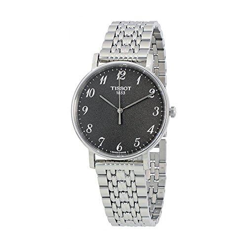 Tissot-Mens-Quartz-Stainless-Steel-Casual-Watch-ColorGrey-Model-T1094101107200