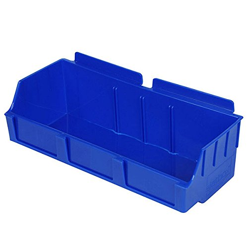 New Retail Blue Storbox wide for Slatwall 4.65''d x 11.42''w x 3.35''h by Storbox
