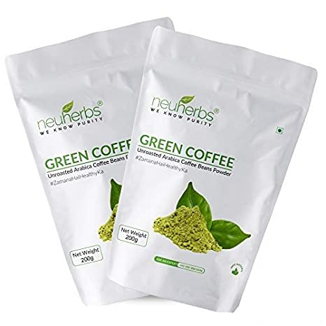 Buy Neuherbs Green Coffee Beans Powder For Weight Loss 200 G