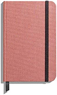 product image for Shinola Journal, HardLinen, Ruled, Pink (3.75x5.5)