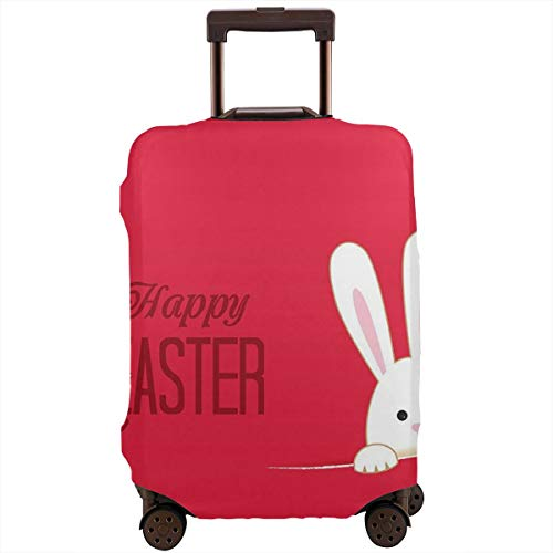 - Travel Suitcase Protector Easter Day Cute Print Cover