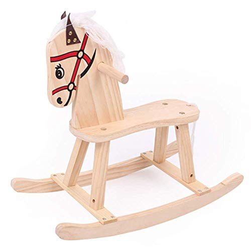 - ZLMI Child Rocking Horse Wooden Rocker Toy Multi-Function Toddler Rocking Chair,Balance TrainingBaby Toy Gift Swings & Chair Bouncers