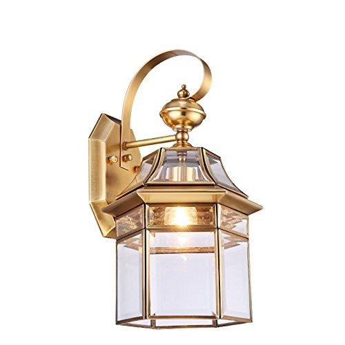 Lampada Da Parete Per Illuminazione Di Esterni In Rame Tutti Lampada Da Parete A Parete Impermeabile Villa Lampada Lampada Da Parete Giardino Luci Esterne Luci A Parete Foyer Lampada Da Pare