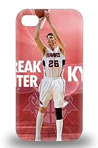 New Cute Funny NBA Atlanta Hawks Kyle Korver #26 Case Cover Iphone 4/4s Case Cover