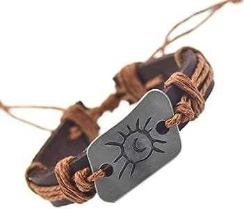 Genuine Leather bracelet For Men Women
