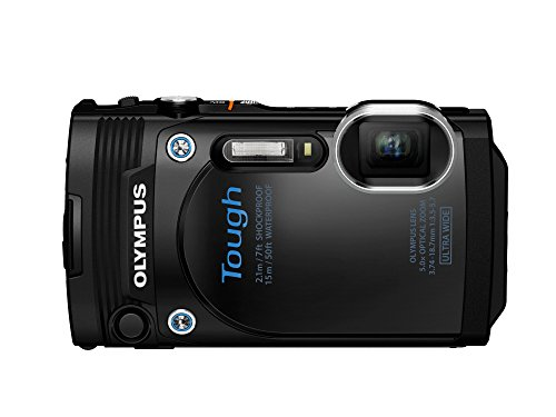 Olympus TG-860 Tough Waterproof Digital Camera with 3-Inch L