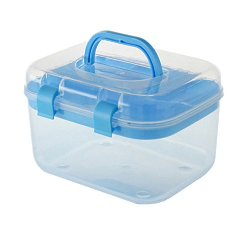 Perfect Storage Box, PYRUS Cosmetic Box Transparent Home Multilayer Medical  Containers(Random Color)