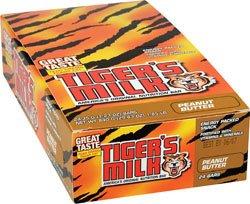 Tiger'S Milk Nutrition Bars Carob Coated Peanut Butter 24 (1.2 Oz.) Bars