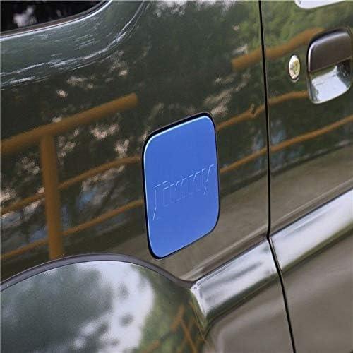 スズキ ジムニー 2007+ フューエルリッド 外部燃料タンクキャップ 燃料タンクパーツ Suzuki Jimny カーパーツ ジムニー アクセサリー アルミ ブルー