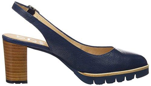 Fermé Avec Femme Talon Gadea Bleu ginger Pacifico À 40547 Pacifico Bout Chaussures RqRY74