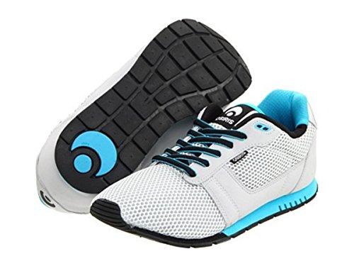 Osiris Skate Shoes -- Retron-- Cement/Black/Cyan