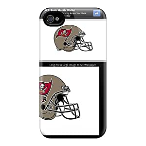 Bumper Hard Cell-phone Cases For Iphone 6plus With Provide Private Custom Trendy Tampa Bay Buccaneers Pattern SherieHallborg