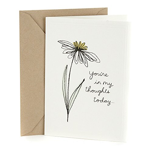 Hallmark Sympathy Greeting Card (In My Thoughts)