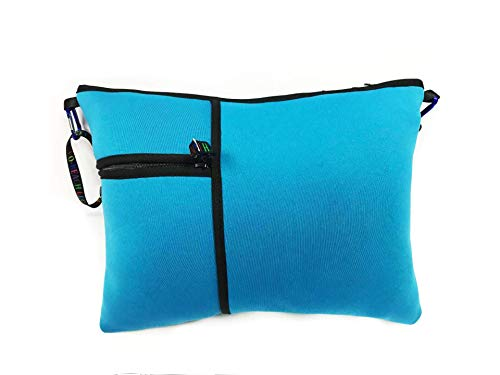 - Beach and Pool Pillow (Turquoise) -10 Colors and Patterns -Washable - Water Resistant