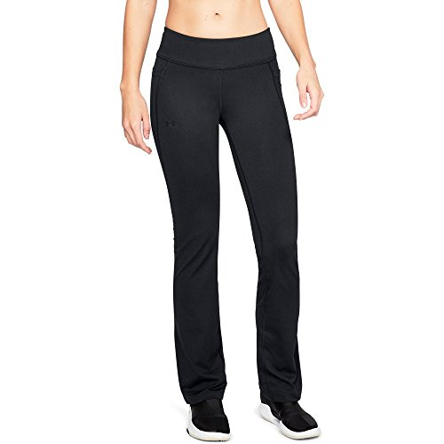 Under Armour Women's All Around Modern Boot Pant, Black (001)/Black, Small
