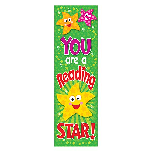 TREND enterprises, Inc. You are a Reading Star Bookmarks, 36 ct