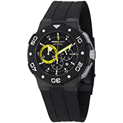 Momo Design Men's MD1004BK-03BKYW Tempest Analog Display Swiss Quartz Black Watch