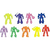 Rinco Pack 140 Battle Space Robot 1-3/4 Inch (44Mm) Toy Figures