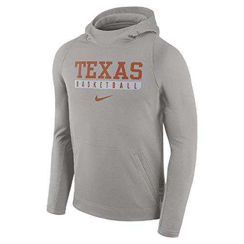 Men's Nike Texas Longhorns Basketball Fleece Hoodie (LARGE)