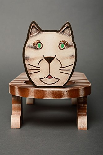 Plywood handmade wooden dining table for cats pet accessories
