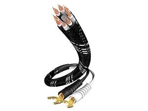 In-Akustik LS-1108 referencia de cable para altavoz (2 x 3 m cable, 6/8 mm cable único)
