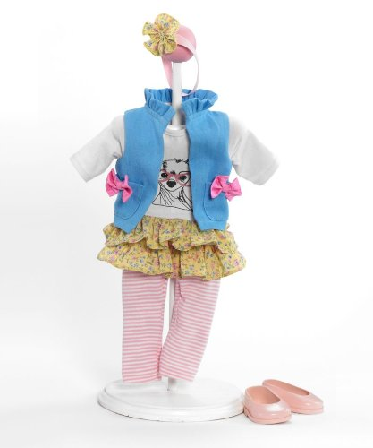 Madame Alexander Girlz Best Friend Outfit, Fits 18