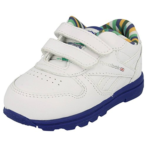 Reebok , Mädchen Sneaker weiß / blau