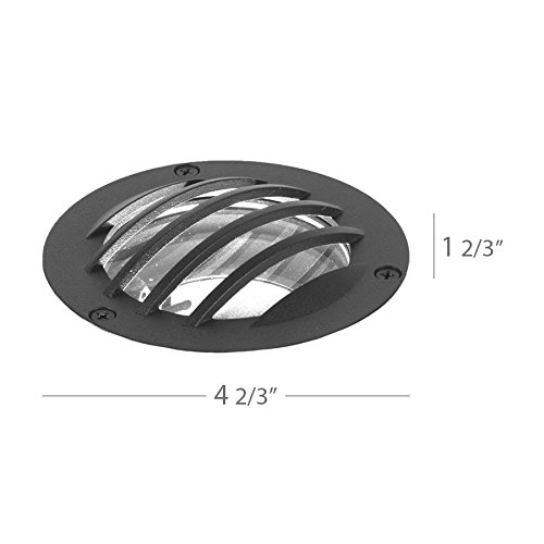 WAC Lighting 5030-GRD-BZ WAC Landscape Accessories Rock Guard For 3 inch Inground Light In Bronzebronze by WAC Lighting