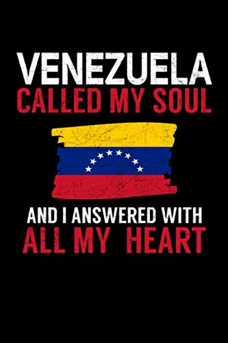 Caracas Girl - Venezuela Called My Soul and I Answered with all My Heart: A 6x9 Inch Matte Softcover Paperback Notebook Journal With 120 Blank Lined Pages