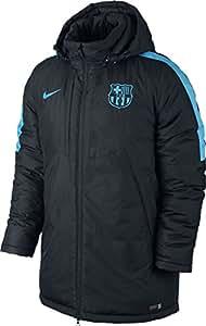 2015-2016 Barcelona Nike Medium Fill Jacket (Black)