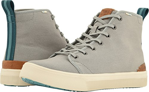 TOMS Men's TRVL LITE High Neutral Gray Canvas 10 D US by TOMS