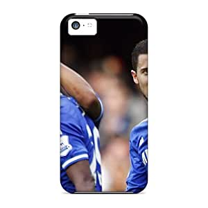 Hot Tpu Cover Case For Iphone/ 5c Case Cover Skin - The Irreplaceable Football Player Of Chelsea Eden Hazard