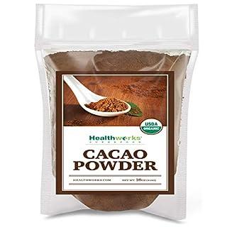 Healthworks Cacao Powder (16 Ounces / 1 Pound)   Cocoa Chocolate Substitute   Certified Organic   Sugar-Free, Keto, Vegan & Non-GMO   Peruvian Bean/Nut Origin   Antioxidant Superfood (B00EKLPLU4)   Amazon price tracker / tracking, Amazon price history charts, Amazon price watches, Amazon price drop alerts