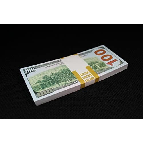 FULL PRINT DOUBLE SIDED COPY PROP MONEY 10K DOLLARS New