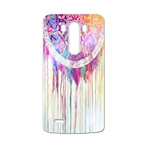 Colorful Cloud Feather Dream Catcher PatternLG G3 Shell Case Cover (Laser Technology)