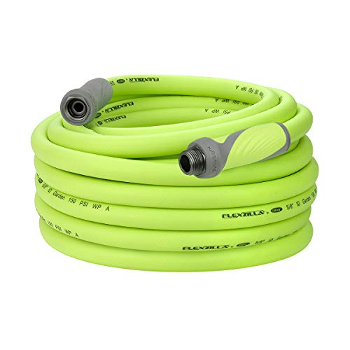 Flexzilla Garden Hose with SwivelGrip, 5/8 in. x 75 ft., Heavy Duty, Lightweight, Drinking Water Safe - HFZG575YWS