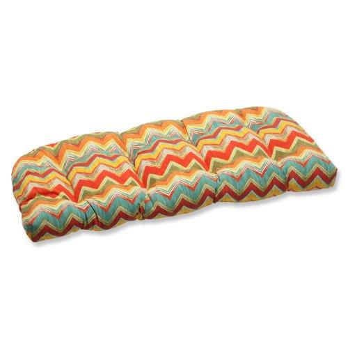Pillow Perfect Outdoor Tamarama Multi Wicker Loveseat Cushion