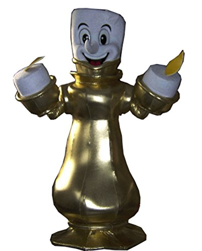 Lumiere Costumes (Lumiere Mascot Costume Adult Cartoon Character Costume)