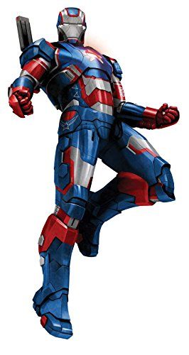 Dragon Models Iron Man 3 - Iron Patriot Model Kit (1/9 Scale) ()