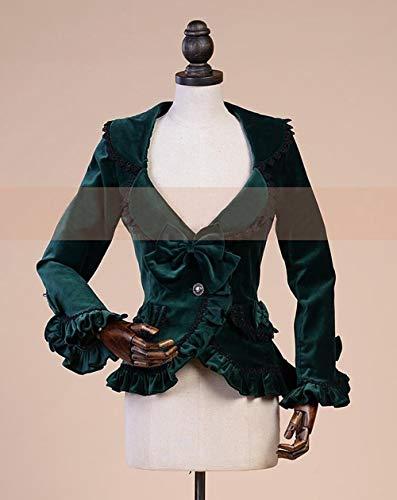 Costume Giacca Femminile Cappotto Da Green Cardigan Dgfhr Donna Autunno LzMVpGqjSU