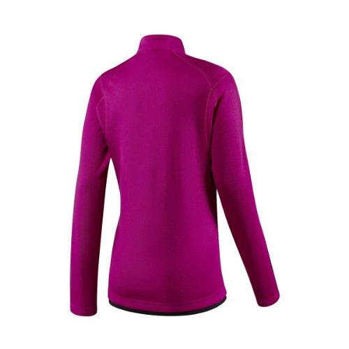 Damen Langarmlaufshirt Response L/S Half-Zip Fleece