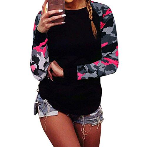 Plus Col Blouses Travail Pullover Yuxin Tshirts Rond Femmes Rouge Hoodies Manches Camouflage Noir Vert Quotidien Automne piss Longues Taille Blanc Gris Dcontracte 5XL Tops Rouge Chemises Hiver L xnE6zn