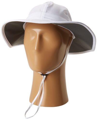 Columbia Women's Sun Goddess II Booney Hat, White, One Size (Chin Strap Sun Hat)