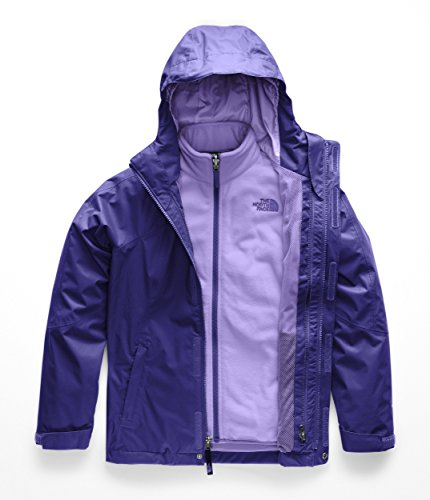 (The North Face Kids Girl's Mt. View Triclimate (Little Kids/Big Kids) Origin Blue X-Large)