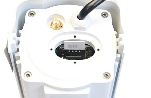 Cámara para uso tanto exterior como interior, resistente al agua, compatible con cualquier tarjeta sim. HD, POE, Visión nocturna, detector de movimiento, ...