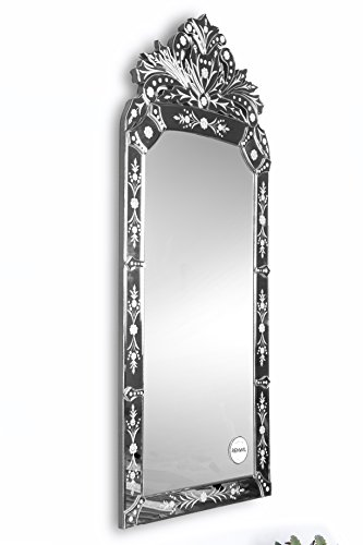 Ren-Wil MT1020 Wall Mount Mirror by Jonathan Wilner and Paul De Bellefeuille, 43 by 19-Inch