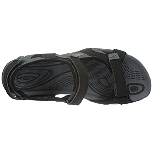 3c2ad80955f7 high-quality MBT Men s Saka 6S Sport Sandal Black Charcoal Synthetic ...