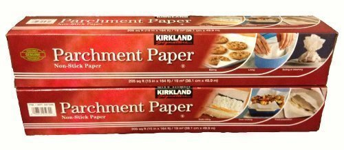 Kirkland Signature Non Stick Parchment Paper, 205 sqft (5, 2 Pack) by Kirkland Signature