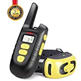 Training Dog Collar - Fypet Shock Collar with Remote,2000ft/IP67 Waterproof Electric Shock/Vibration/Beep Control Dog Training Collar for Small Medium Large Dogs